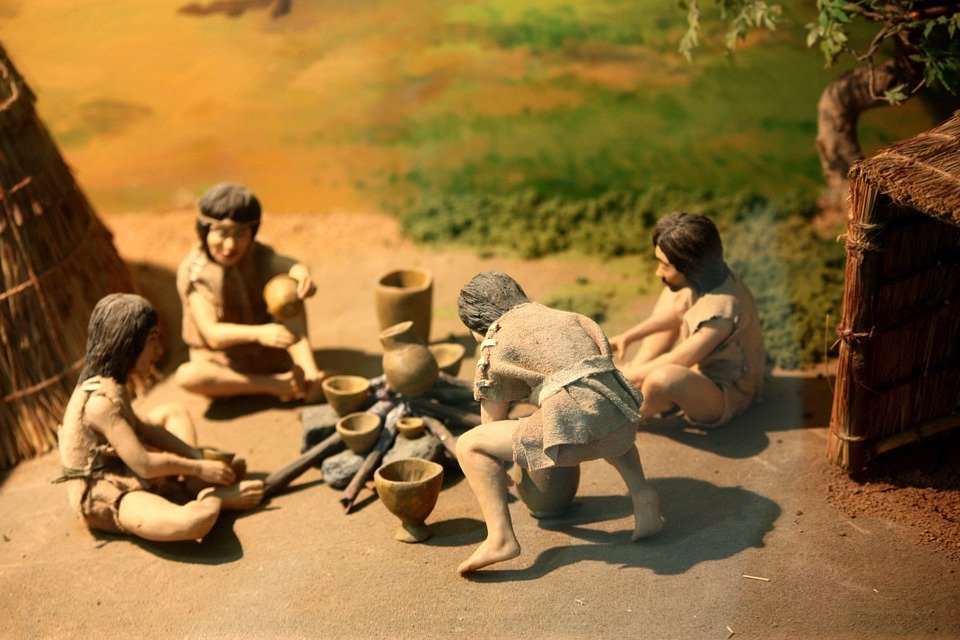 原始人メカニズムのネットまでの人間関係